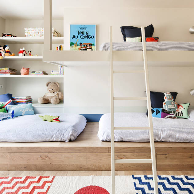 Habitaciones infantiles compartidas por 3 o más niños ...