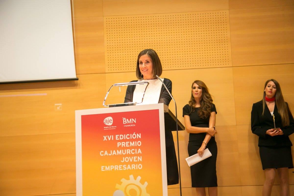 Premio Cajamurcia Joven Empresaria2