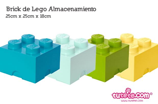 Almacena con los Bricks de Lego