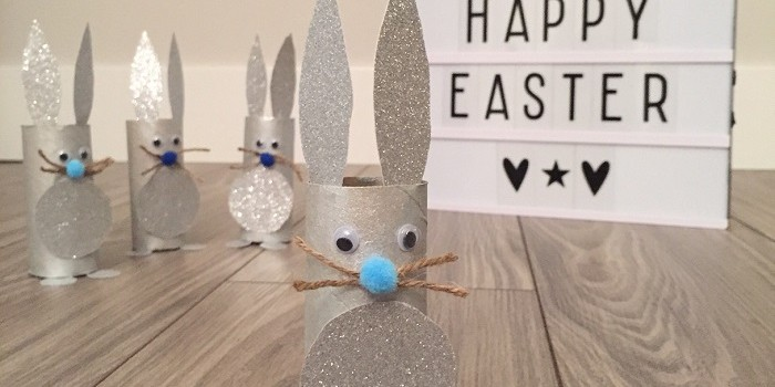 Una divertida manualidad de Pascua