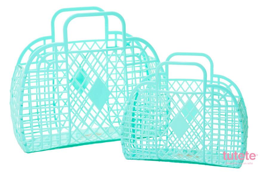 bolsas retro de plástico