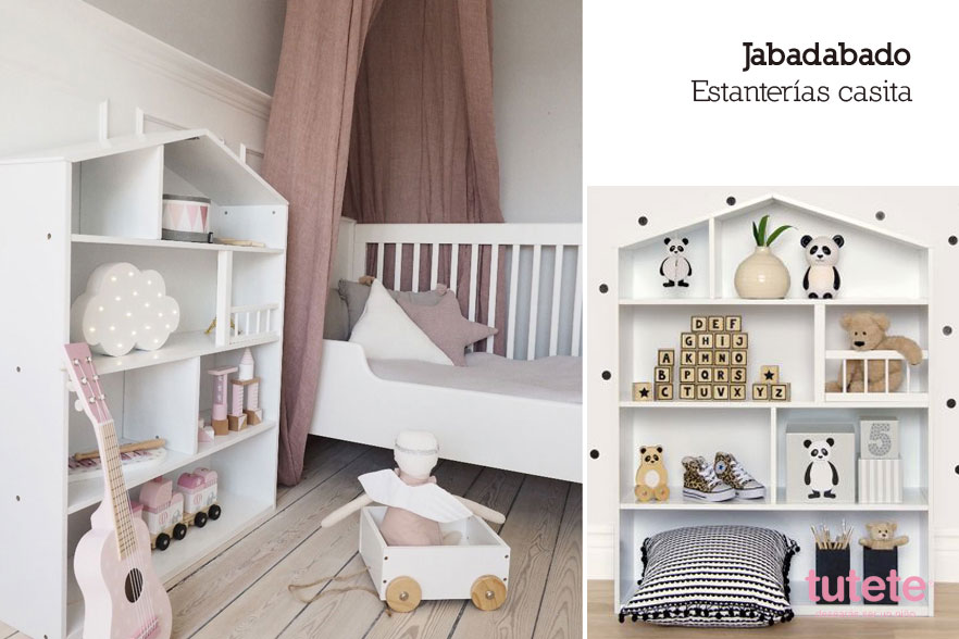 estanterías de pared infantiles