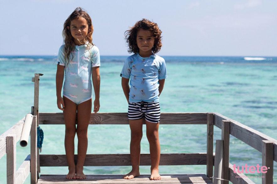 ropa con protección solar